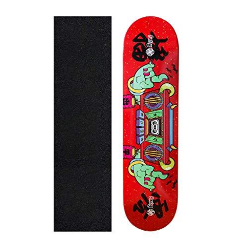 kyman Patinetas Completas, 31 Pulgadas Pro Skateboard, Trucos Skate Tablero for Principiantes Pro, Doble Patada 7 Capa Canadiense Maple Mapate cóncava 🔥