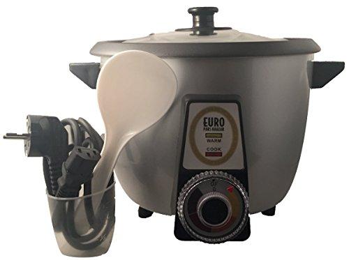 Vollautomatischer Reiskocher speziell für Reiskruste oder Reiskuchen Tahdig geeignet (4-8 Personen)