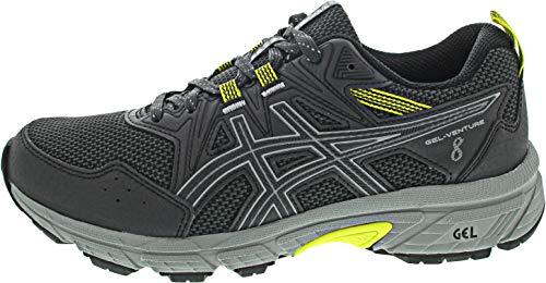 Asics Gel-Venture 8, Zapatos para Correr Hombre, Gris (Graphite Grey/Graphite Grey), 43.5 EU