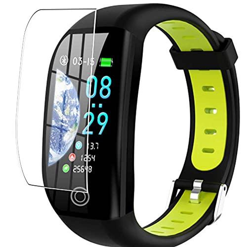 Vaxson 3 Stück Schutzfolie, kompatibel mit Tipmant Fitness Tracker F21 smartwatch Smart Watch, Displayschutzfolie TPU Folie [ nicht Panzerglas ]