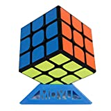 Oostifun MoYu MoFang JiaoShi 2020 RS3M 3x3x3 Cube Cubing Classroom 2020 MF3RS3M 3x3 MF3 RS3 M V3 Cubo Puzzle con un treppiede cubo e una borsa cubo (Nero)