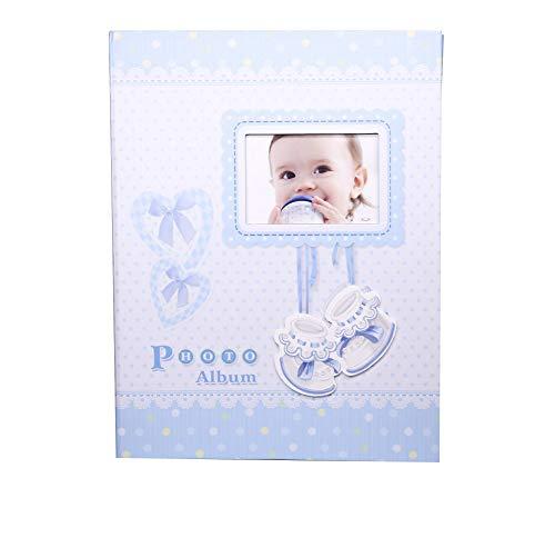 Álbum Fotográfico Do Bebê P/ 200 Fotos 10x15 Príncipe Menino