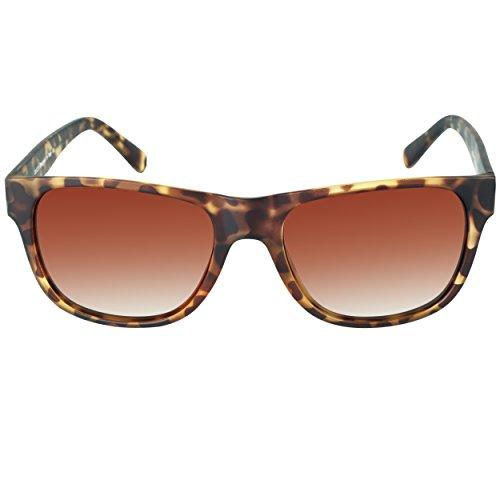 DUCO Gafas de sol clásicas cuadradas de acetato polarizadas para hombre y mujer, UV400 2145