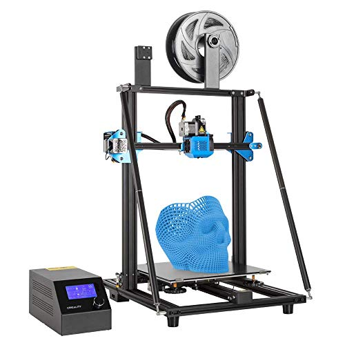 Comgrow Creality CR10-V3 3D Printer with Titan Direct Drive Extruder, Silent Motherboard, Meanwell Power Supply, and Large Build Volume 300x300x400mm (Renewed)