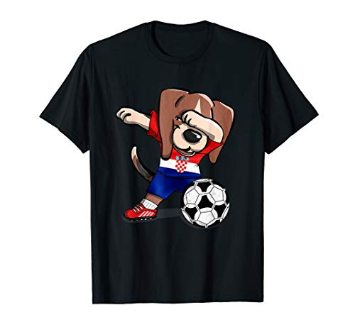 Dog Dabbing Croatia Soccer Jersey 2019 Croatian Football