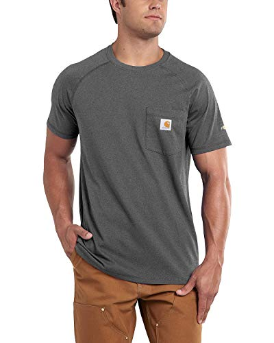 Carhartt Men's Stain Release Moisture Wicking Force T-Shirt,...