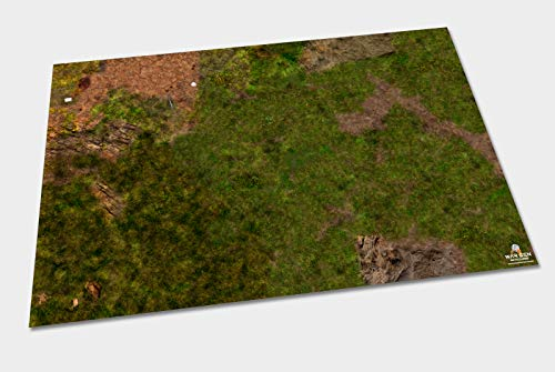 Mountain Path Restricted Area - Tapete para Wargames (4x6 (122x183cm))