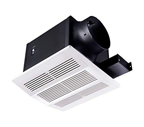 Bathroom Ventilation and Exhaust Fan with Humidity sensor,110CFM 0.8 Sones with 6inch Duct,Tech Drive