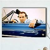 QAQTAT Nicolas Cage Schauspieler Star Poster und Drucke