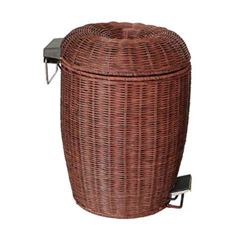 LQ&XL Cubo de Basura pequeño/Papelera de Cocina, Bote de Basura Papelera para Basura en el hogar u Oficina, Papelera de Oficina/B / 12L
