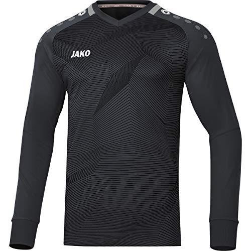 JAKO Herren Goal Torwart-Trikot, schwarz/Grau, L