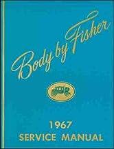 1967 PONTIAC FISHER BODY FACTORY REPAIR SHOP MANUAL INCLUDES: GTO, Tempest, LeMans, Catalina, Firebird, Executive, Bonnevi...