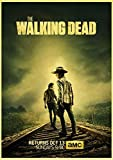 IFUNEW Cuadros Decorativos American TV Series The Walking Dead Posters Paper Printed Wall Posters Good Quty Wall Art 60x90cm