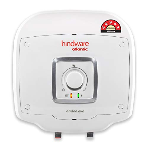 Hindware Atlantic Ondeo Evo 25Litre Storage Water Heater (Free Installation, 5-Star BEE...