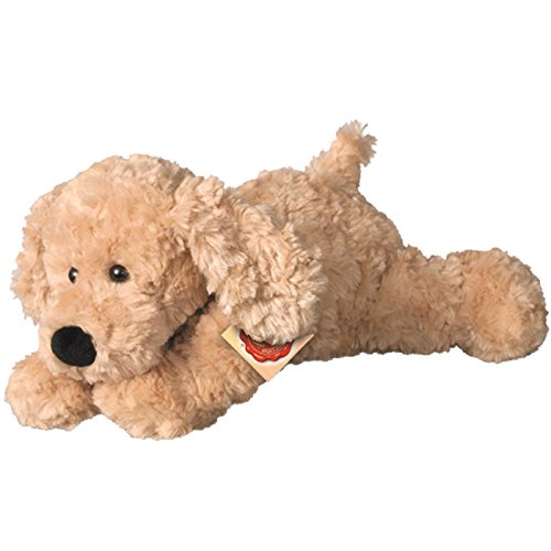 Hermann Teddy Collection 919285 - Plüsch-Schlenkerhund, 28 cm, beige