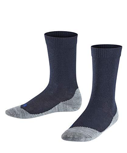 FALKE Kinder Socken Active Sunny Days - Baumwollmischung, 1 Paar, Blau (Dark Marine 6170), 27-30
