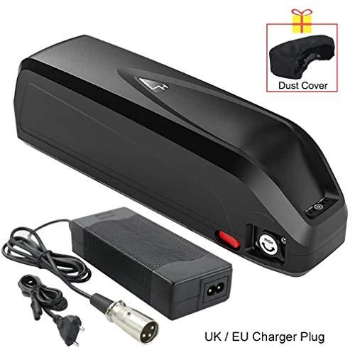 Qingmei Batería Ebike 48V 36V 52V Batería de Litio con Puerto USB y Cargador Batería de Repuesto para Bicicleta eléctrica para Motor de 1500W 1000W 750W 500W 250W (Size : 52V16Ah)