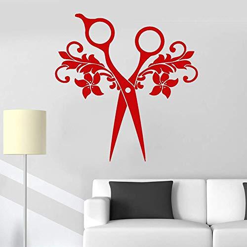 Tianpengyuanshuai Barbershop muurtattoos vinyl kapper kapper etalage sticker verwijderbaar logo kunst muurschildering