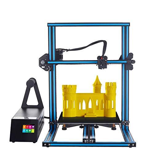 H.Y.FFYH Imprimante 3D Taille d'impression maximale du kit d'impression A5X 3D avec 2,8 '' Machine d'impression 3D de Bureau à Tige de vis à axe Z à écran Tactile HD
