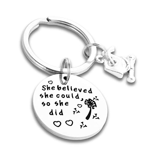 College Graduation Gifts for Her Jewelry 2019 Graduation Keychain Gifts for Daughter Granddaughter Graduation Deychains 2019 for Him Friends Class of 2019