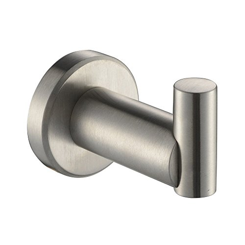 XVL Robe Hook Coat Hook Stainless Steel Wall Mounted SUS304 Stainless Steel BrushedG122