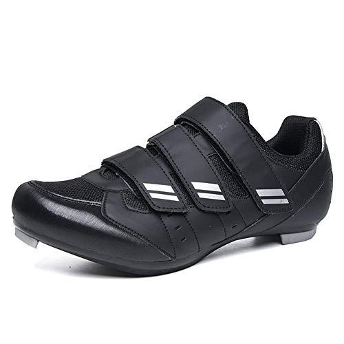 Zapatillas De Bicicleta De Montaña, Calzado De Bicicleta para Hombre Zapatos De...