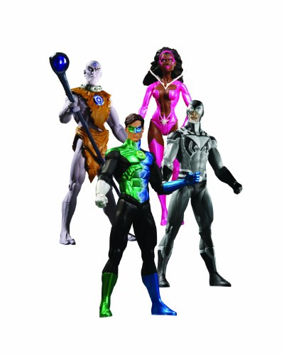 DC Blackest Night 18cm Boxed Set inkl. Comic [Import allemand]