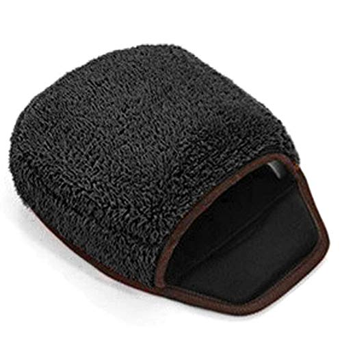 Deyan Tappetino per Mouse riscaldato Scaldamani Rosa Morbido Alimentato Tramite USB con Supporto per Polso Caldo per dispositivi da Ufficio per Computer