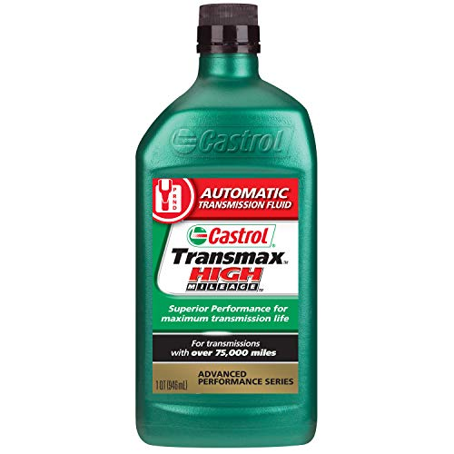 Castrol 06812 Transmax High Mileage Automatic Transmission Fluid - 1 Quart
