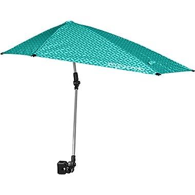 Sport-Brella Versa-Brella All Position Umbrella with Universal Clamp, Turquoise