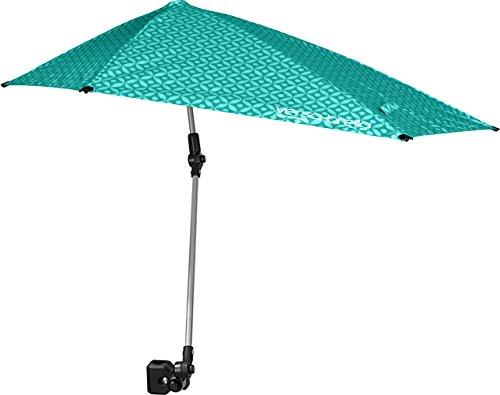 Sport-Brella Unisex's, Turquoise Versa-Brella All Position Umbrella with Universal Clamp, 1 Size