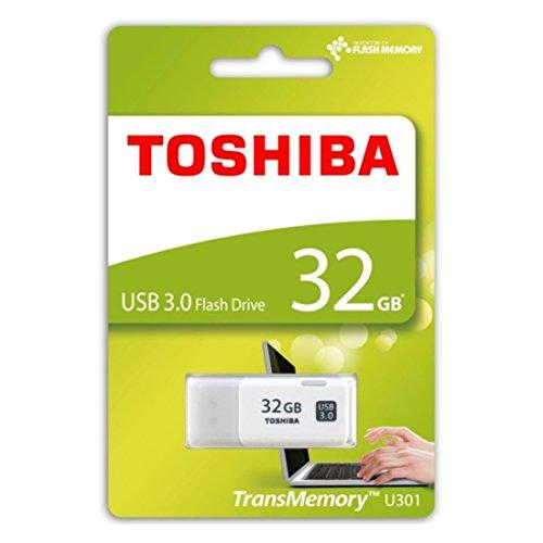 東芝 USB3.0フラッシュメモリ32GB ホワイト 海外パッケージ品 THN-U301W0320C4
