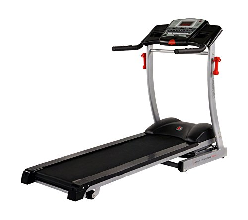 Hammer RPX Auto-Incline Treadmill - Black/Silver