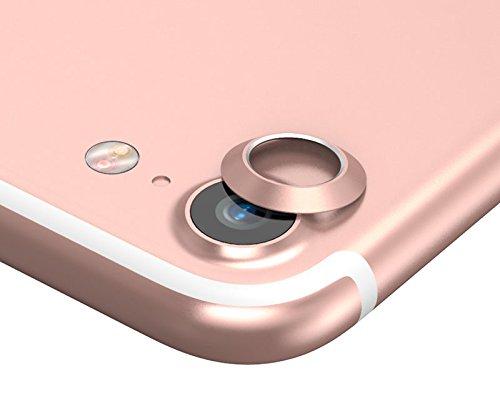 superior ZRL® Rückfahrkamera Objektivkreis Aluminium Protector Ring Case Skin Für iPhone 7 Plus Lot