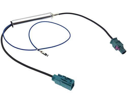 Adaptateur d'antenne Fakra mâle femelle Alimentation fantôme Amplificateur d'antenne