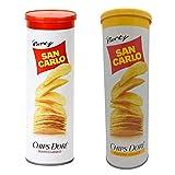 San Carlo Chips Dore' classico e gusto vivace 28 barattoli...