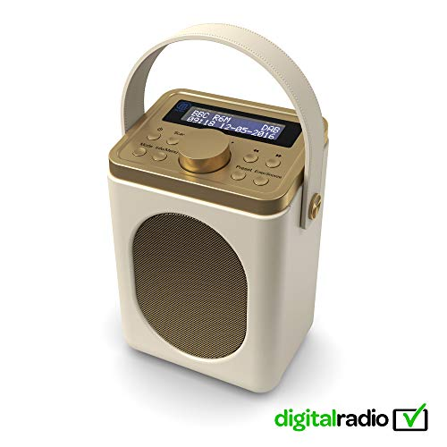 Majority Little Shelford DAB/DAB+ Digital & FM Radio, Portable Wireless,...