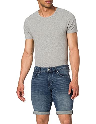edc by Esprit 041cc2c305 Shorts en Jean, 901/Blue Dark Wash, Taille 40 Homme