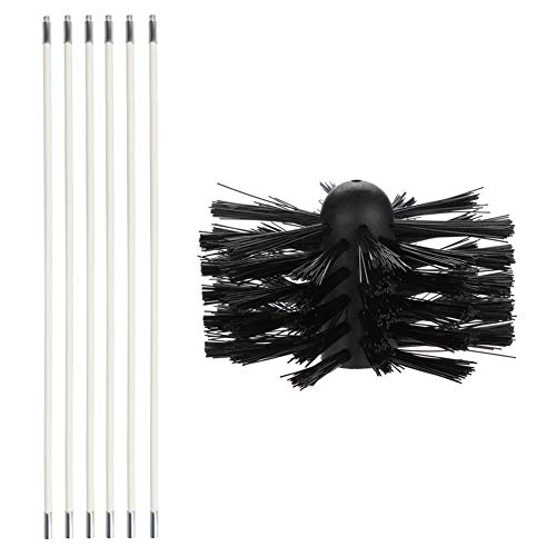 Huaheng Pipe Inner Brush Dryer Vent Cleaning Brush Lint Remover Cleaning Tool Kit Oil-Smoke Machine