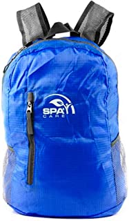 SPACARE Foldable Backpack, Blue