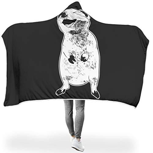 WJunglezhuang Quokka Lachtier Australien1 Kuscheldecken Warme Microplush Lightweight Therma LargeSofa Chair Bed Office Reisen Camping Decke White 150x200cm