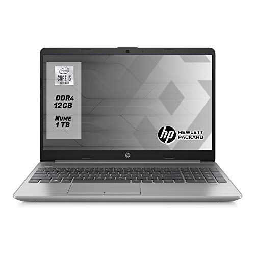 "Hp 250 g8 Notebook intel core i5 1035G1, Ram 12 Gb Ddr4,Ssd M.2 1 TB ,Display 15.6""FULL HD,Pc portatile Windows 10 Professional"