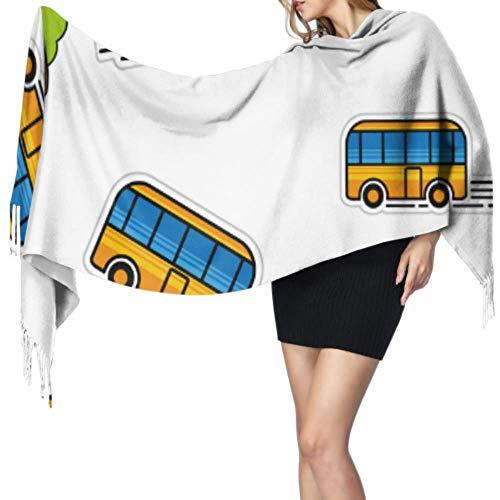 Sunwei firm Bus City Daily Transport Womens Shawls en Wraps Shawl Wrap Women Cashmere Scarfs 77