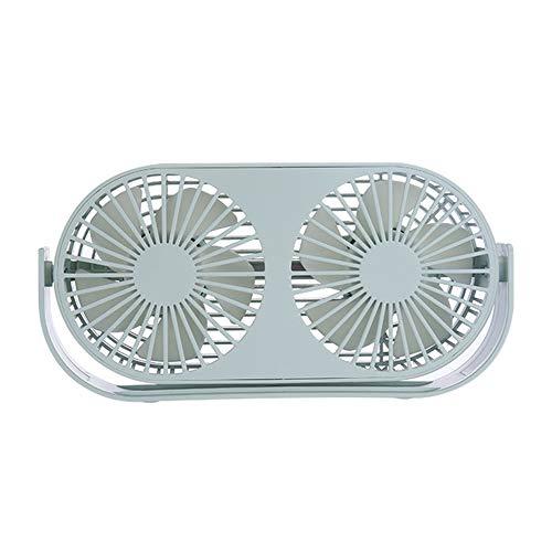 Luchttransportventilator, 360 Graden Verstelbare Mini USB Fan Auto Aromatherapie Fan Geschikt Voor Kantoor Aan Huis