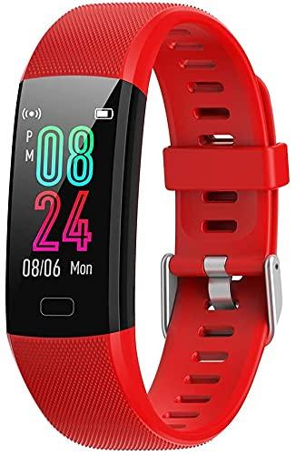 Reloj inteligente de frecuencia cardíaca, rastreador de actividad, monitor de sueño, GPS, batería de larga duración, contador de calorías, compatible con iOS y Android, resistente al agua IP70
