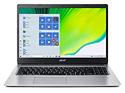 Acer Aspire 3 A315-23 15.6-inch Laptop (AMD Athlon Silver 3050U dual-core/4GB/1TB HDD/Window 10, Home, 64Bit/AMD RadeonTM Graphics), Silver,Acer,A315-23