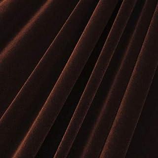 """Van Nimwegen STRETCH VELVET FABRIC COSTUMES CRAFT, APPAREL, UPHOLSTERS 60""""W 30 COLOR BY YARD Van Nimwegen - Color is Brown"""