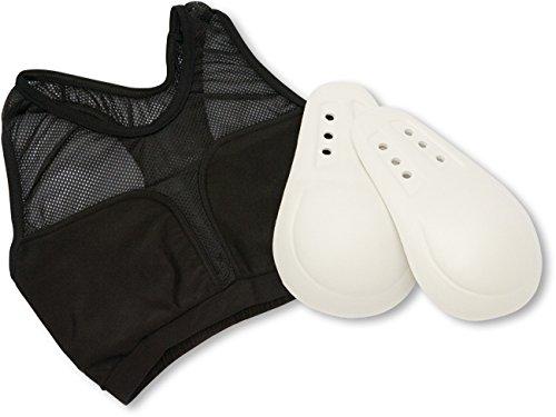 Paffen Sport Lady Brustschutz mit Bustier; schwarz; GR: S