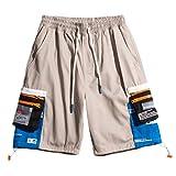 Irypulse Unisex Cargo Pantalones Cortos Combate Shorts Golpe Pants para Hombres Mujeres Jóvenes Otoño Verano