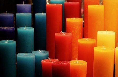 Tinte velas 10 g puede teñir 1 kg cera